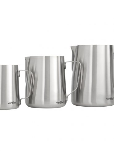 Italian Milk Pitcher Stainless Steel Jar3