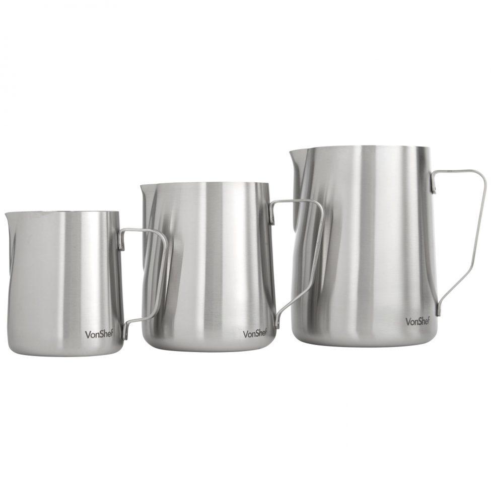 Italian Milk Pitcher Stainless Steel Jar3