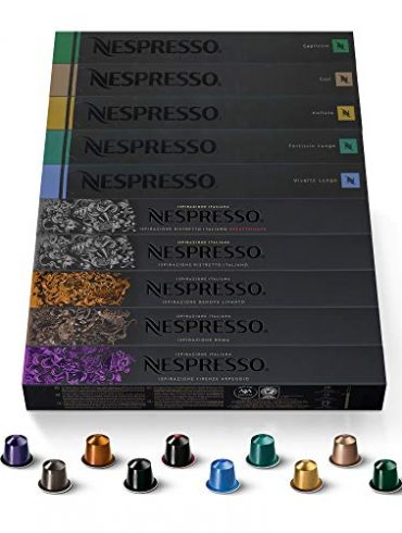 Nespresso coffee capsules in India – 100 pcs