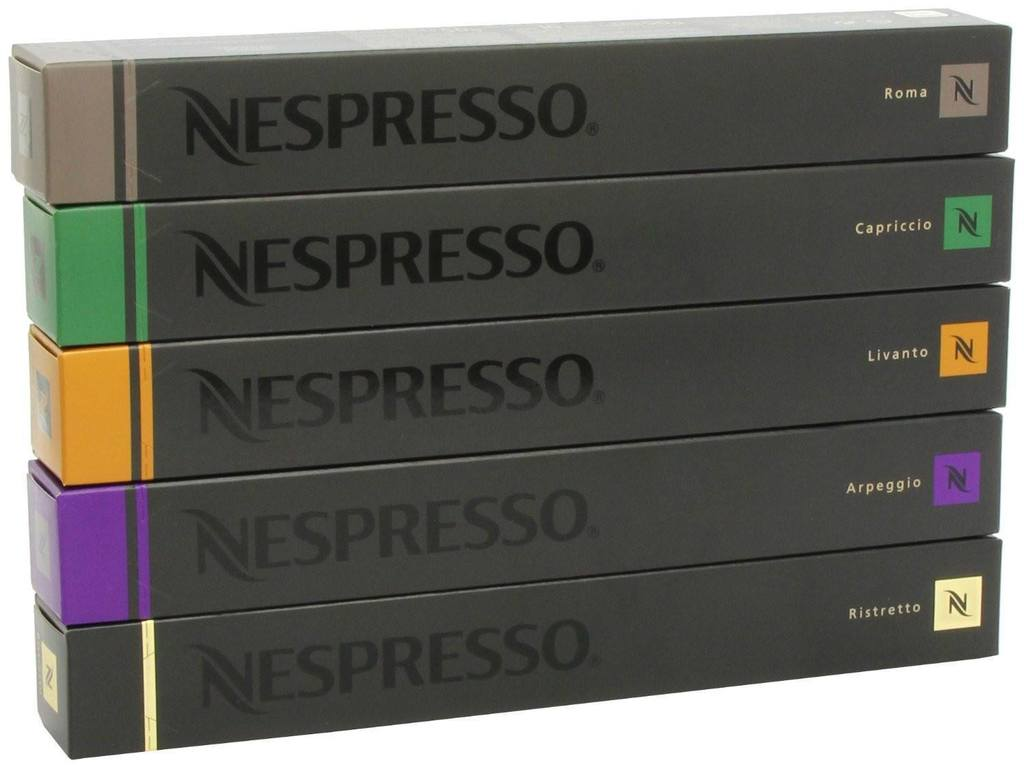 Nespresso coffee pods in india – 100 pcs