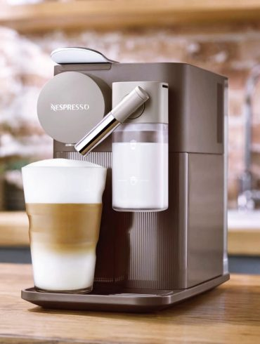 Automatic Nespresso Lattissima Coffee Machine - Mocha Brown