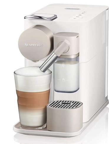 Delonghi Nespresso Lattissima Coffee Maker - Silky White