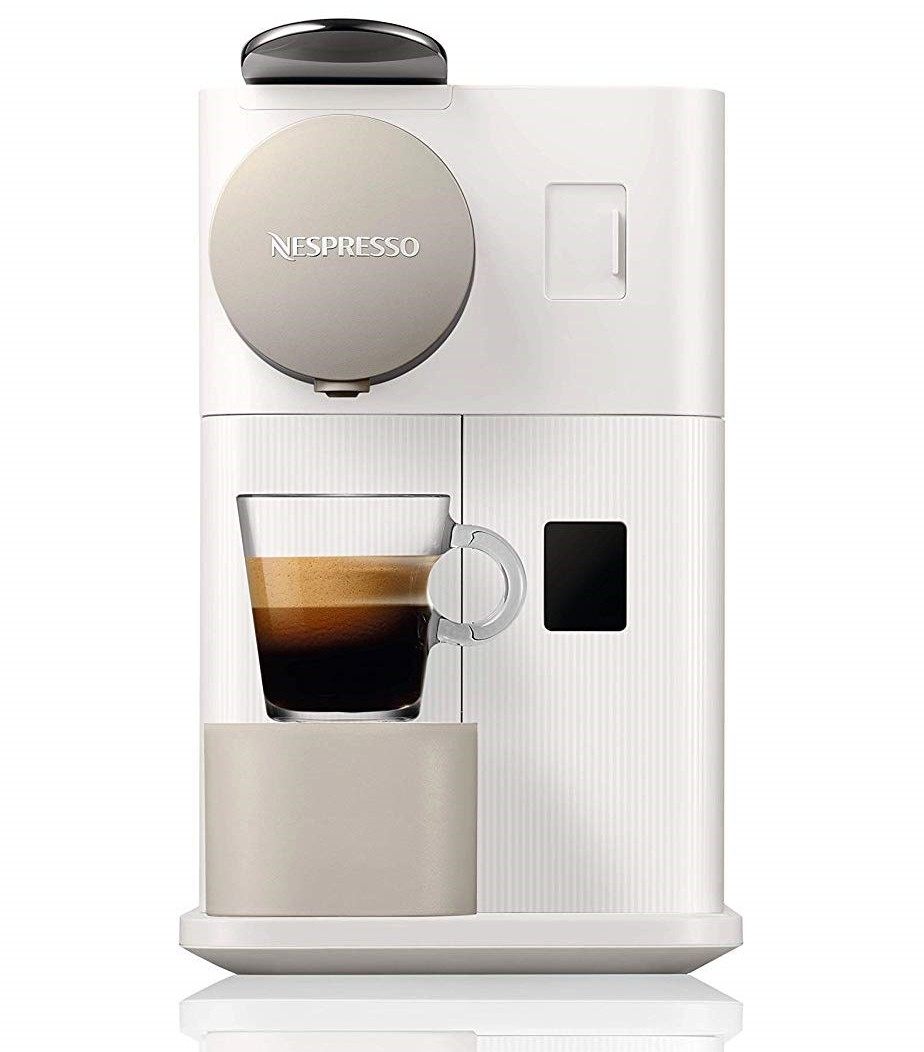 Nespresso White Lattissima One Espresso Coffee Maker