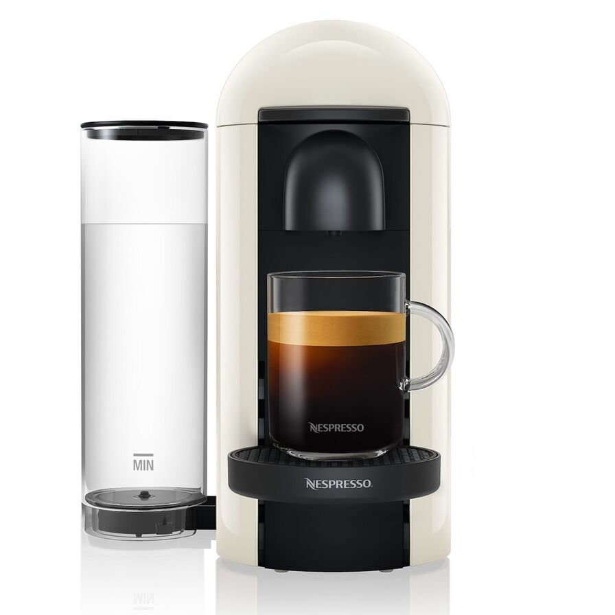 Krups Nespresso Pod Coffee Machine-White