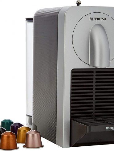 Nespresso Magimix Prodigio Coffee Maker- Silver-1