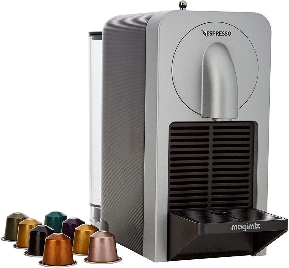 Nespresso Magimix Prodigio Coffee Maker- Silver