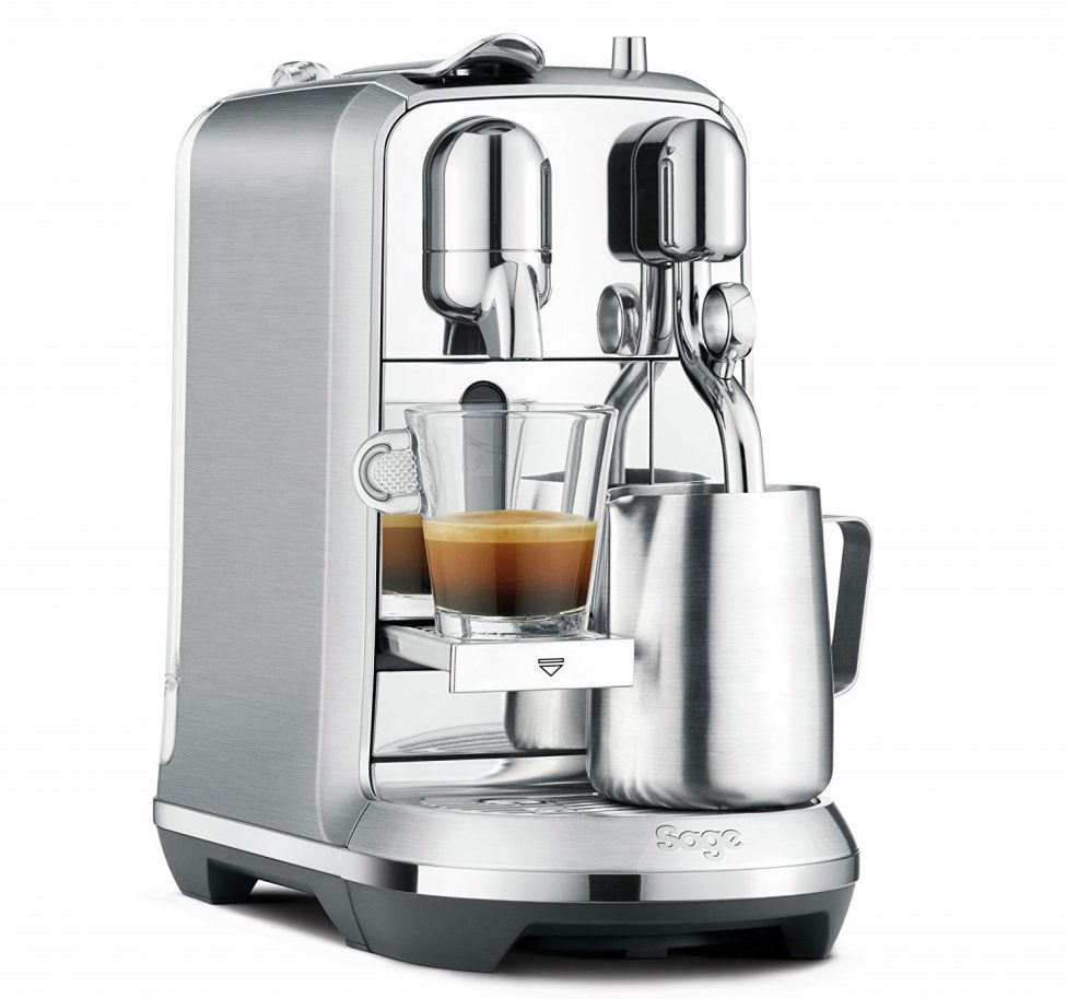 New Nespresso Creatista Plus- Brushed Stainless Steel