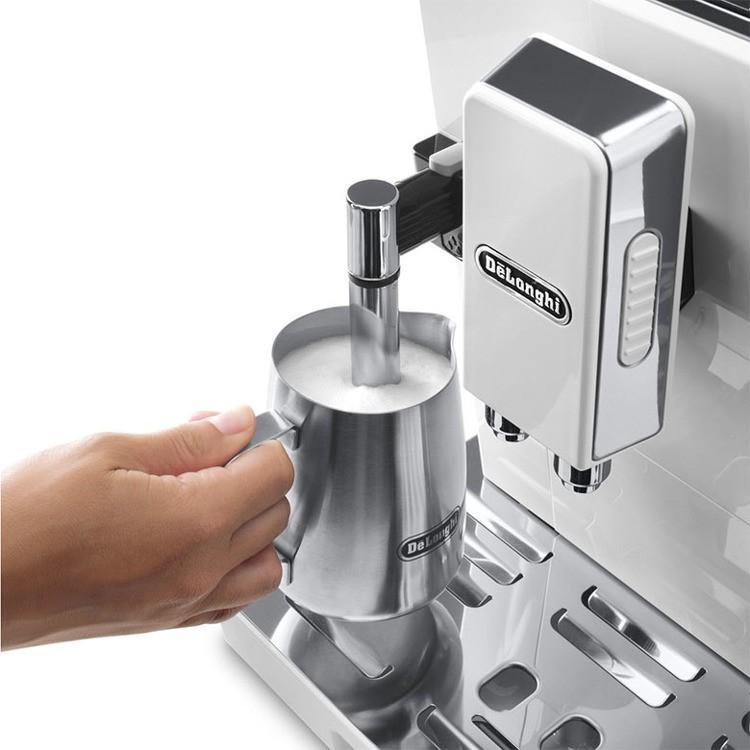 Delonghi Eletta Cappuccino Top ECAM 45.760.W Bean to Cup Coffee Machine