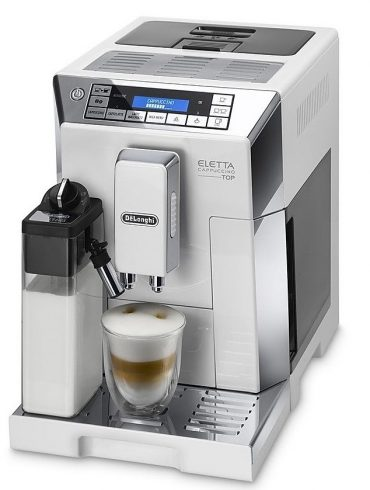 Delonghi Eletta Cappuccino Top ECAM 45.760.W Bean to Cup Coffee Machine5