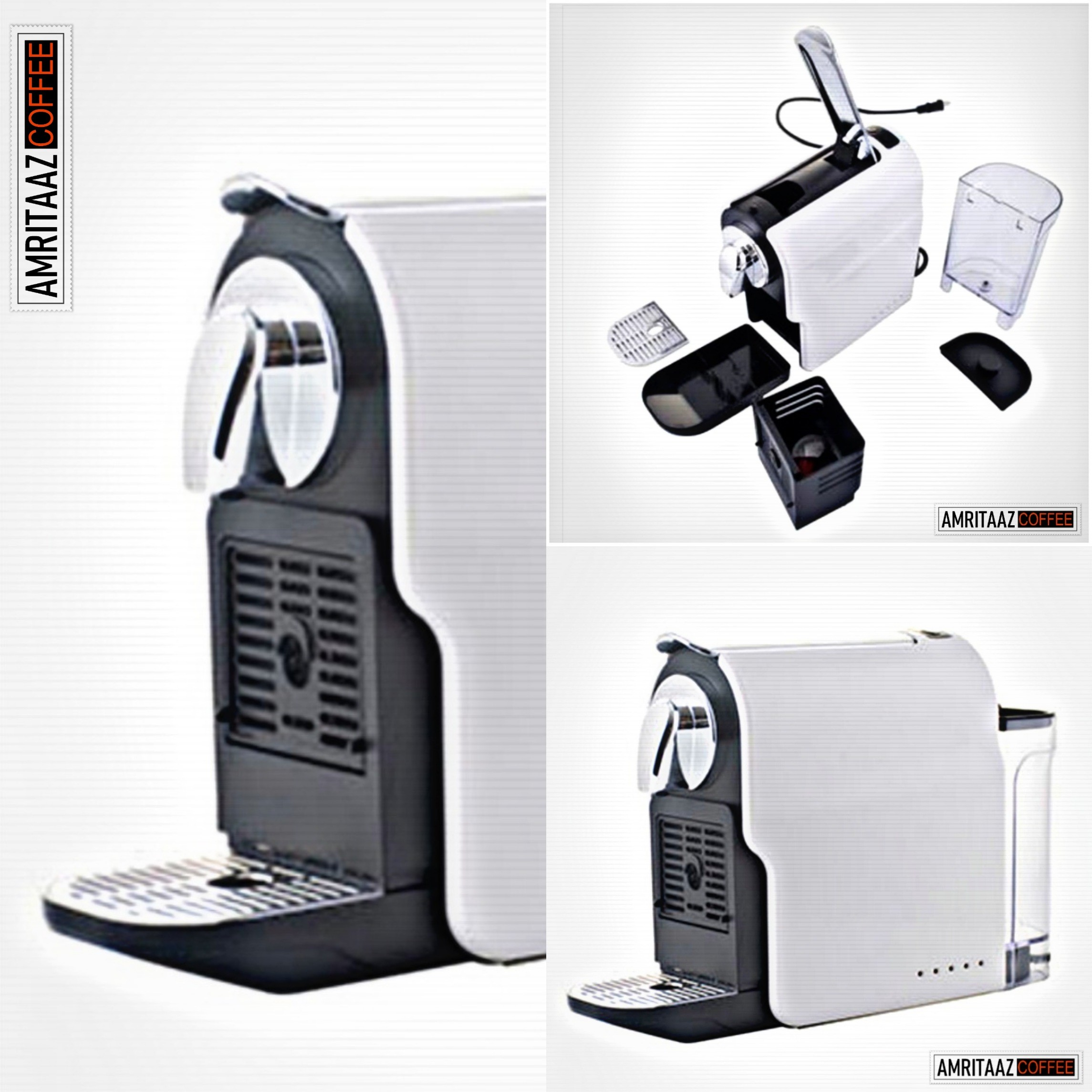 FREE COFFEE MACHINE WITH AMRITAAZ COFFEE NESPRESSO COMPATIBLE CAPSULE PODS - ORDER NOW