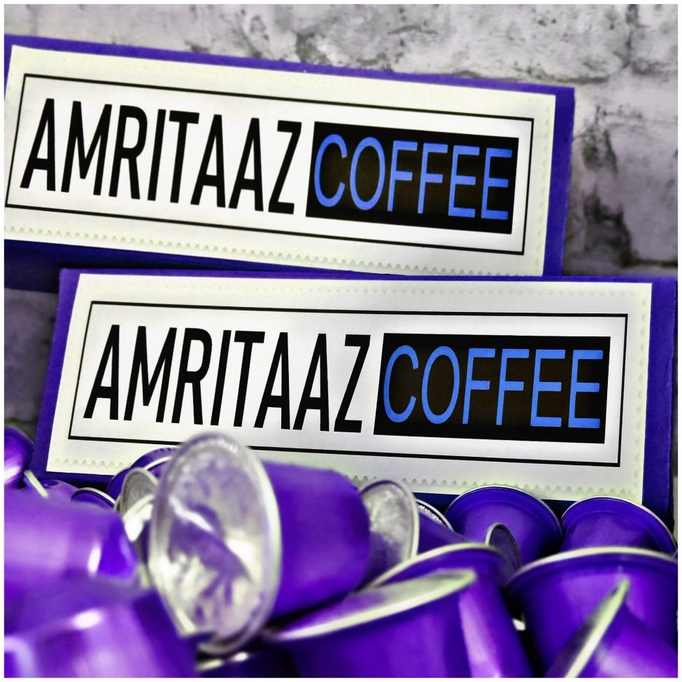 Nespresso Compatible Coffee Pods by AMRITAAZ COFFEE - PURE ARABICANO