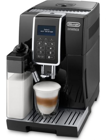 New Delonghi Dinamica ECAM 350.75 Black Super Automatic Bean to Cup Coffee Machine