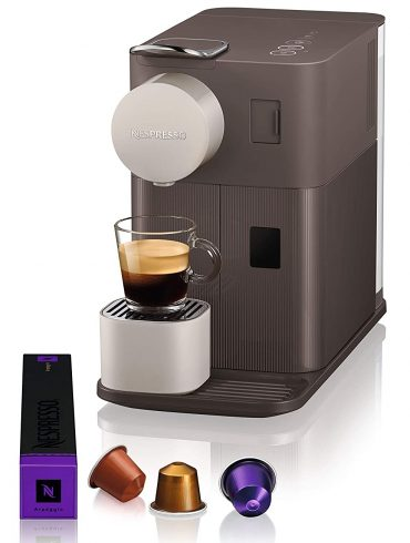 Automatic Nespresso Lattissima Coffee Machine – Mocha Brown