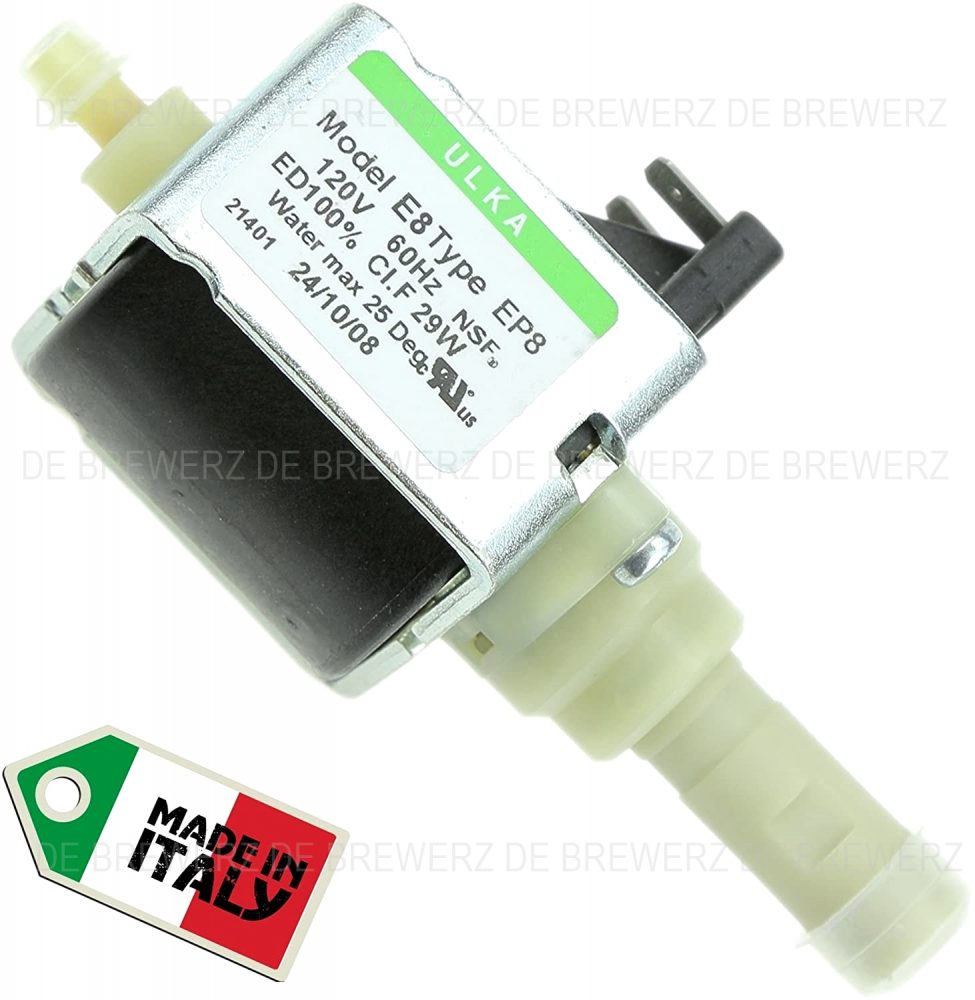 Water Pump For Nespresso- Delonghi- Krups- Magimix- Jura- Ascaso- Gaggia- Saeco- Melitta Coffee Machine- Original Spare Part