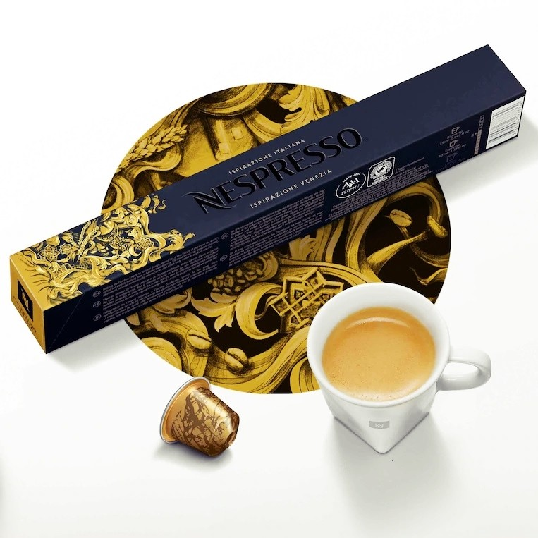 Limited Edition Nespresso Ispirazione Venezia Coffee Pods Available in India- 100 pcs