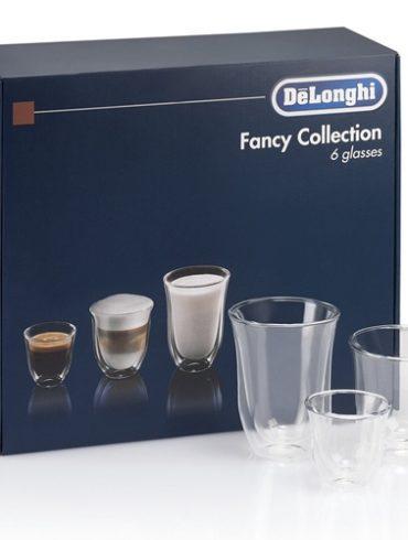 New Double Walled Thermo Espresso, Cappuccino & Latte Macchiato Glasses by Delonghi