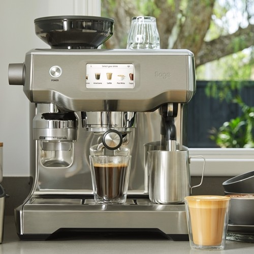 Barista Touch Silver Pump Espresso Bean To Cup Coffee Maker (Made in UK)2