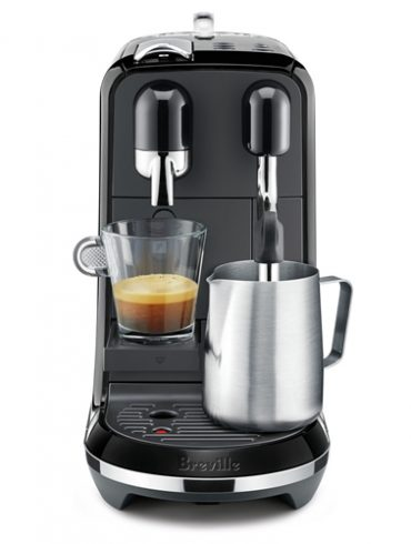 Nespresso Black Creatista Uno Automatic Espresso Coffee Pods Machine2