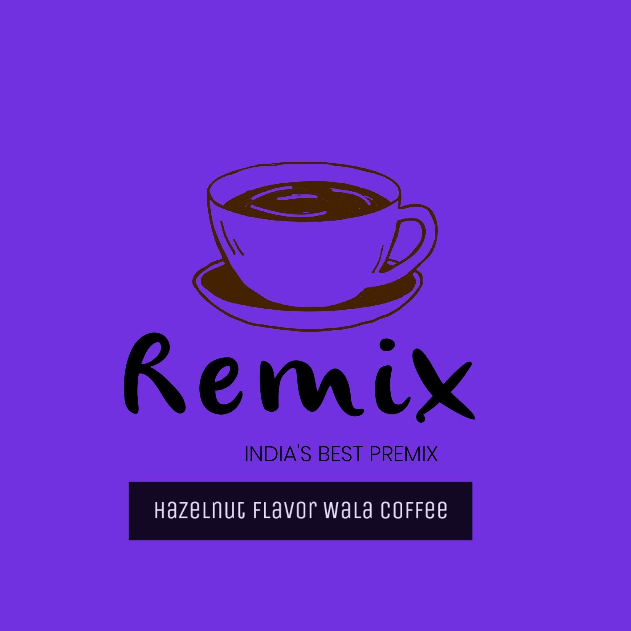 HAZELNUT FLAVOR WALA COFFEE BY REMIX